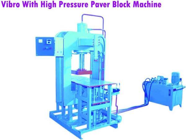 leading manufacturers of  pavers block making machine in morbi - by JAY JALARAM MACHINE TOOLS, Near Pooja Steel, Panchasar Road. Morbi. 363 641