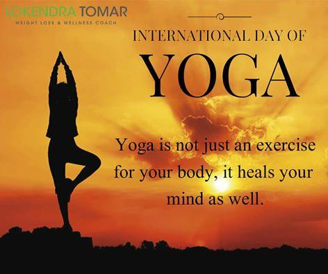 Lokendra Tomar -  Best Dietician in Gurgaon Delhi NCR  Yoga is not just an exercise for your body, it heals your mind as well. Exercise helps in body toning while Diet helps in Weight Loss. Visit us K-1205, Sispal Vihar, Sohna Road, Gurgaon - by Lokendra Tomar Weight Loss & Wellness Coach, Gurgaon
