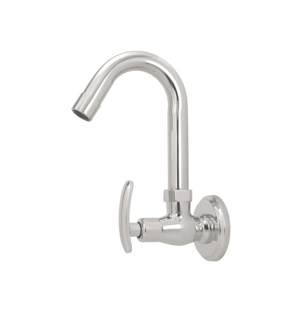 We are Manufacturer and Exporter of Brass Water Taps in Rajkot Gujarat.This is kitchen faucet is good for stain steel kitchen sink is known as sink cock with full range of bib cock, pillar cock, angle cock, wall mixer and all other products - by Sagar Technocast, Rajkot