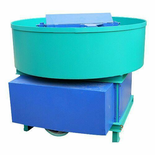 pan mixer machine  - by Omkar Machie Tools, B/h Bhabha Exports, Panchasar Road, Morbi