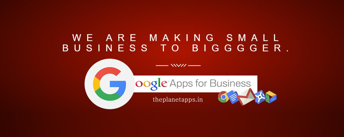 The Planet has been powering Businesses with innovative IT & Web Solutions. We partner with our clients to understand and deliver varied solutions (Website Designing, Graphic Design, E-Commerce Solution, Domain & Hosting, SEO, Bulk SMS & Emails & Business Email Hosting) that are suited for their business....for more information visit our site...http://theplanetapps.in/ - by 300 OFF! Google Apps for Work Partner +91 7503131644, Delhi