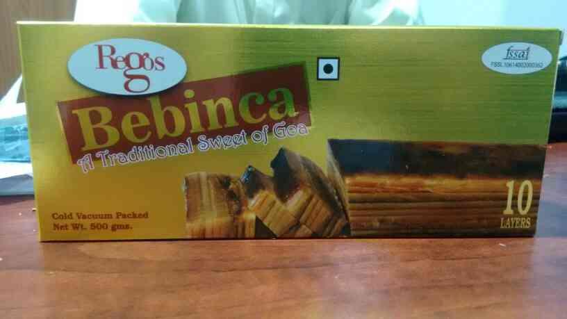 bebinca manufacturers in Goa - by Rego Food Products, Vasco