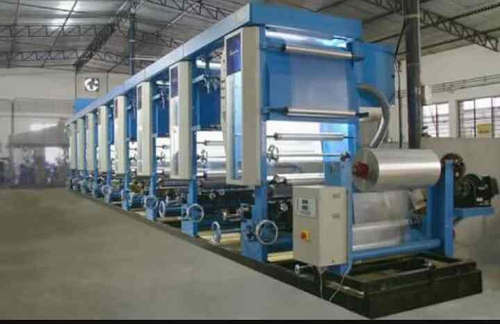 All types of Rotogravure printing machinery, Chemical machinery, etc - by Shri Rajhans Engg Works, Ahmedabad