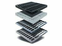 We offers wide range of Moulded Grating & pultruded Grating,   Traditionally Steel gratings were being used for various applications. But COMPOSITE GRATINGS due to various advantages over steel like better strength, durability, light weight - by Vctech, Vadodara