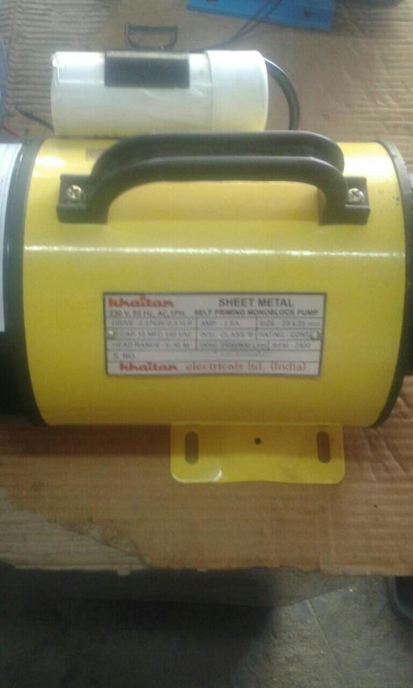 we are wholesaler of self priming pumps in rajkot - by Ruston Electricals, Rajkot