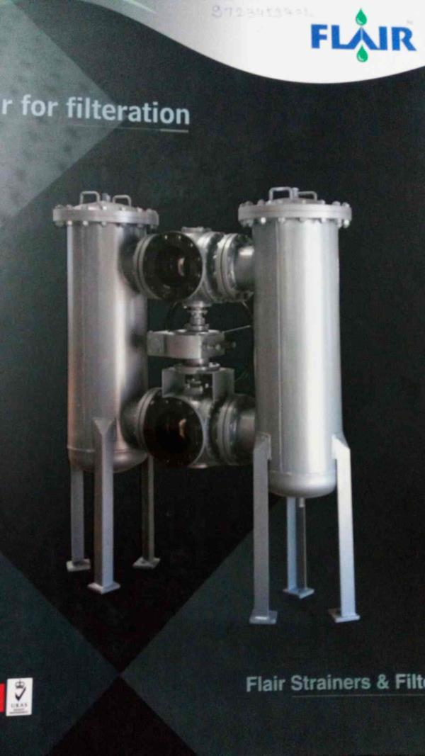 we are leading manufacturer for filters in vatva - by Flair Strainer and Filter, Ahmedabad