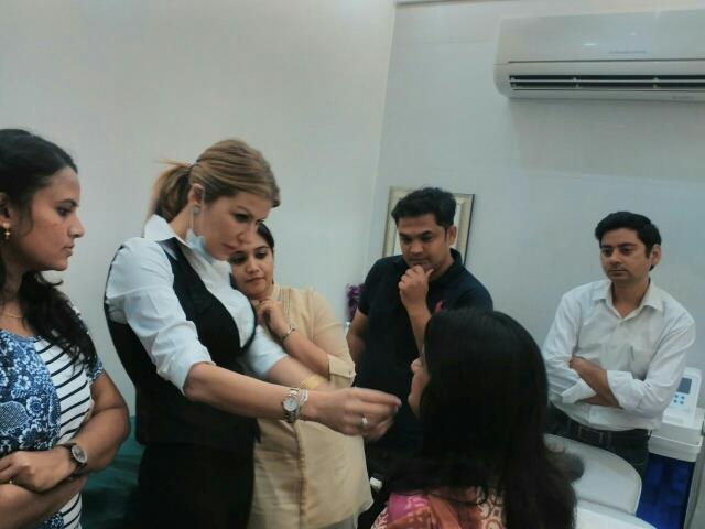 Free Botox & Filler workshop was conducted on Monday at ME CLINIC by our guest doctor from Europe  - by ME Clinic  Delhi, New Delhi