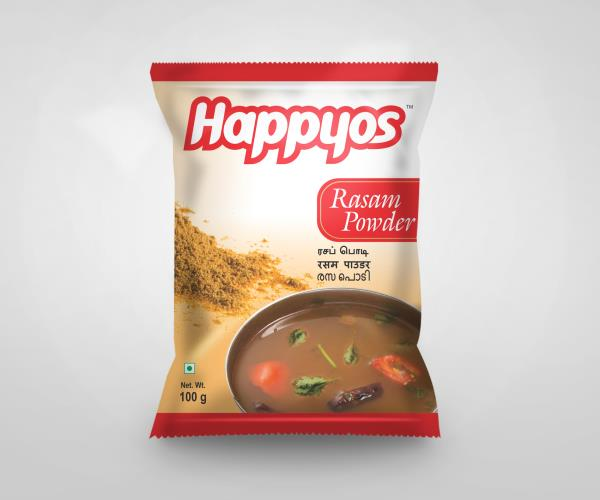 Manufacturers of Rasam Powder   Happyos is the leading Manufacturers and Exporters of Indian Spice Masalas like:   Fish Kulambu Masala Powder  Chilli Chicken 65 Powder  Chicken Masala Powder  Mutton Masala Powder  Mutton Biryani Masala Powd - by SP Caring Products India Private Limited, Coimbatore