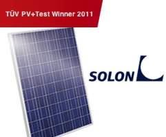 Solon solar panels Made in German Blue poly available at Capsol Store - by Capsol Solar Energy Systems, Al Gharbia