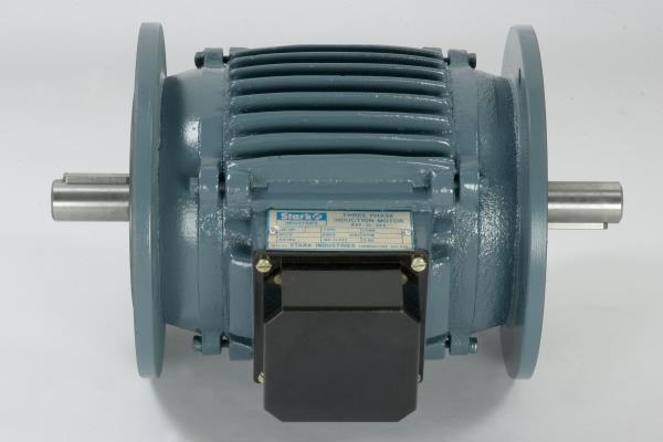 Double Side Flange Motor ;- The Motors are Using in Crane Application,