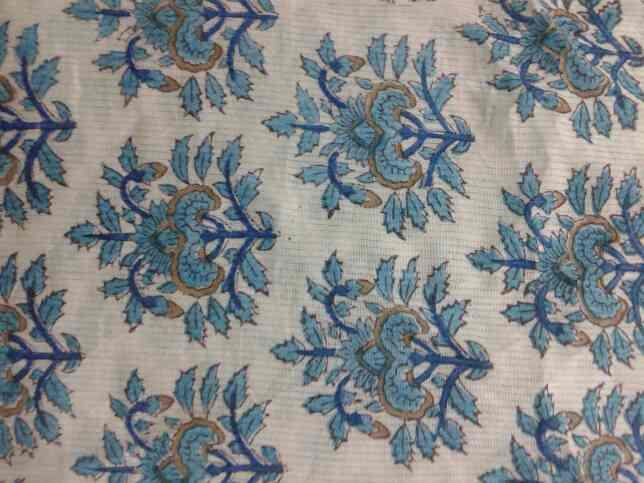 running fabric hand block printed manufacturers by own units in jaipur - by Shubham Handicraft , Jaipur