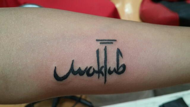 Tattoo Inspired by Paulo Coelho  - by TAG - Tattoo Art Garage, Hyderabad