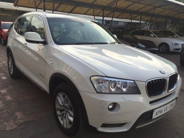 # BMW | X3 | 2012 model | topend | diesel | fancy number | 50k Kms driven | excellent service history | mint condition | - by Vasant Motors Pvt Ltd, Hyderabad