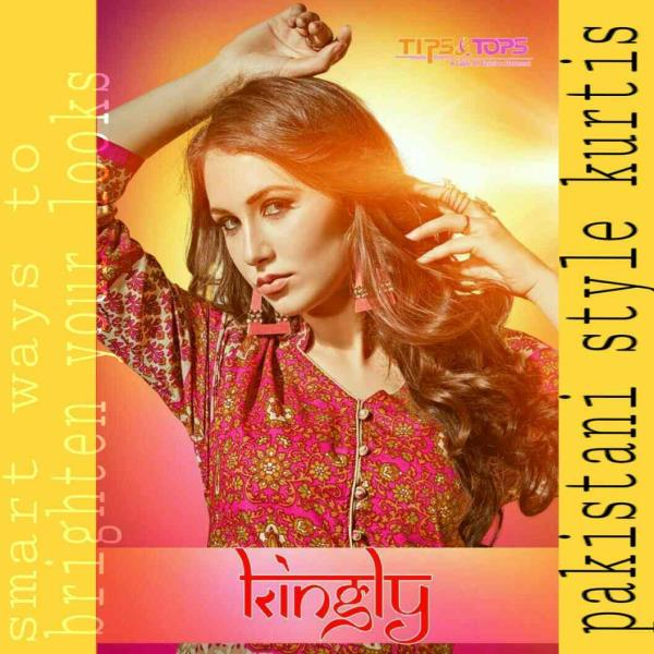 New Pakistani style kurtis from TIPS & TOPS... the hub of manufacturing kurtis Kashish Studio Ahmedabad  Total 15 *designer* *catalogues* of kurtis ready for dispatch ( *highest* in whole Ahmedabad) range starting from 235 to 765.  contact  - by Kashish Studio, Ahmedabad