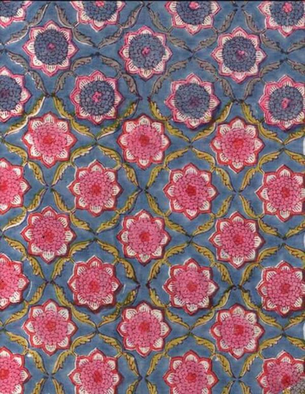 fabric hand block printing - by Shubham Handicraft , Jaipur