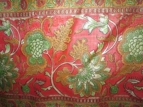 hand block printed fabric - by Shubham Handicraft , Jaipur