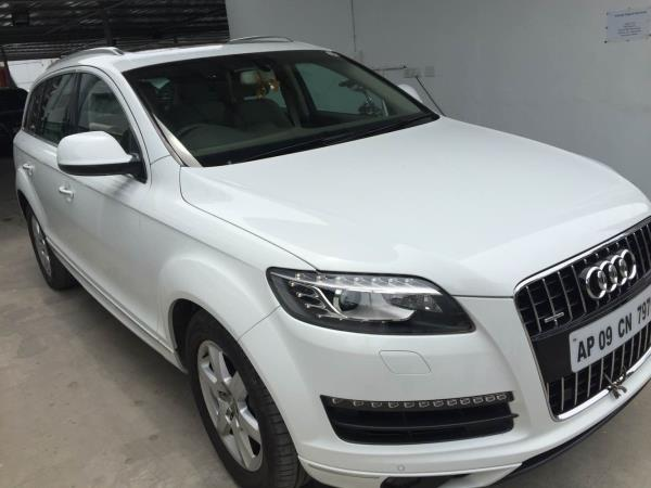 # Audi | Q7 | 3.0 Tdi | 2012/05 | topend | fancy number | excellent service history | full insurance | Hyderabad registered | mint condition | - by Vasant Motors Pvt Ltd, Hyderabad