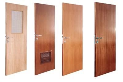 Flush Doors Gopal Shivdas And Sons offers Flush Doors is available in a variety of designs, styles and finishes based on the requirements of our clients. Flush Doors are dimensionally stable, termite resistant, moisture proof, durable and l - by Gopal Shivdas & Sons, Pune