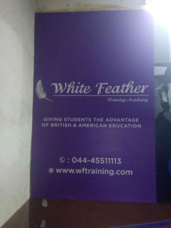 Training Academy in Chennai - by White Feather Training Academy, Chennai
