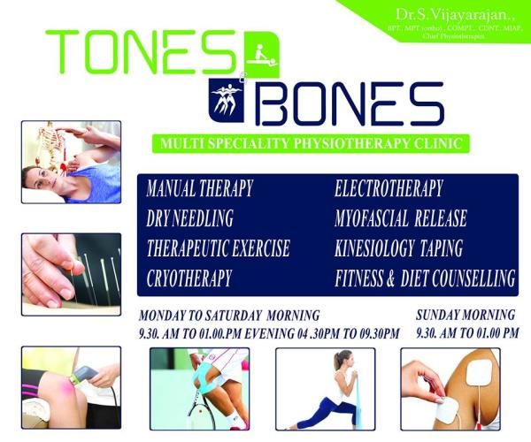 Best Physiotherapy Centers in Shanthi Colony #best physiotherapy centers in shanthicolony  Best Physiotherapist In Shanthi Colony #best physiotherapist in shanthicolony  Best Physiotherapist For Foot in Shanthi Colony #best physiotherapist  - by Tones and Bones, Chennai
