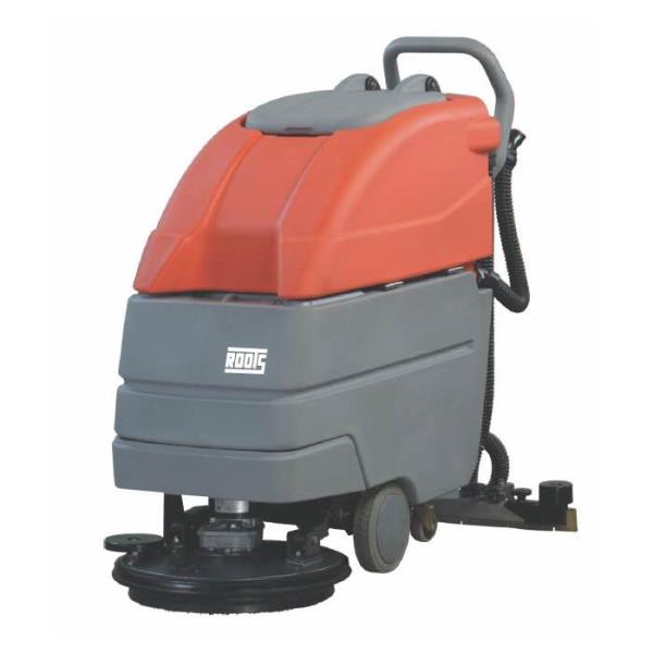 High performance scrubber driers machines from roots for various outdoor and indoor sweeping Vadodara Gujarat.  - by K C Enterprise, Vadodara