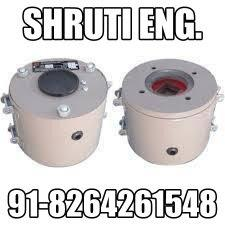 Electro Magnetic Brakes  We are a leading manufacturer, supplier and exporter of a robust range of Electro Magnetic Brakes. Premium grade material and high-end machines are used at our end for fabricating these brakes. In order to meet the  - by Shruti Engineering, Ahmedabad