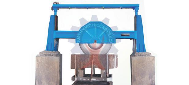 GRANITE BLOCK CUTTER (Single Pillar)    MODEL: GBC (WATER CUT)  GRANITE BLOCK CUTTER is best suited for cutting of Granite blocks.  We have become a reliable manufacturer, supplier and exporter of Single Pillar Granite Block Cutting Machin - by Prem Engineering works - call us 9828056125/ 9828044146, Udaipur