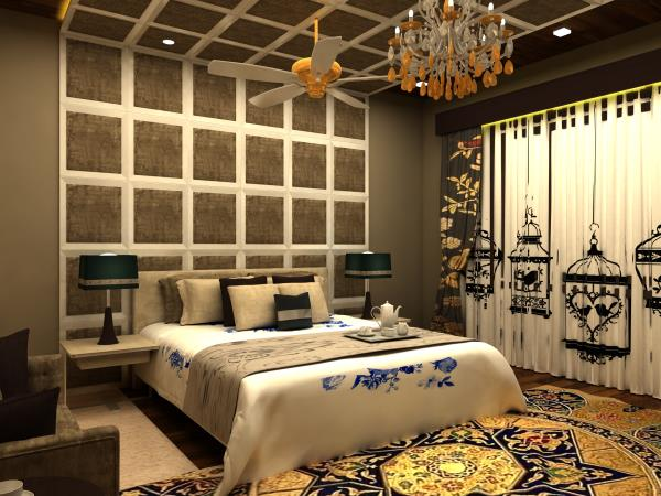 Traditional Style Bedroom Design - by L.N.Design's, Ajmer
