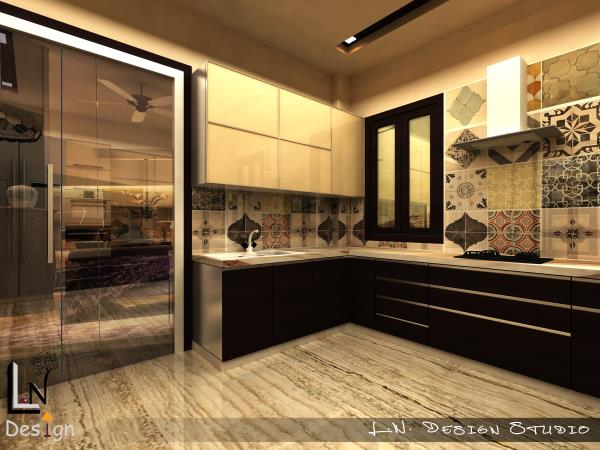Kitchen design - by L.N.Design's, Ajmer