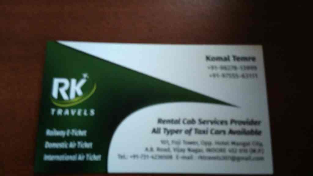 We are provide rental cab services  - by Rk Travels , Indore