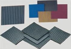 Rubber Sheet  We manufacture a comprehensive range of rubber sheets for general, industrial and mining applications. It includes vulcanized black and colored sheets for technical uses and industrial applications, with smooth surfaces or wit - by Industrial Moulders, Vadodara