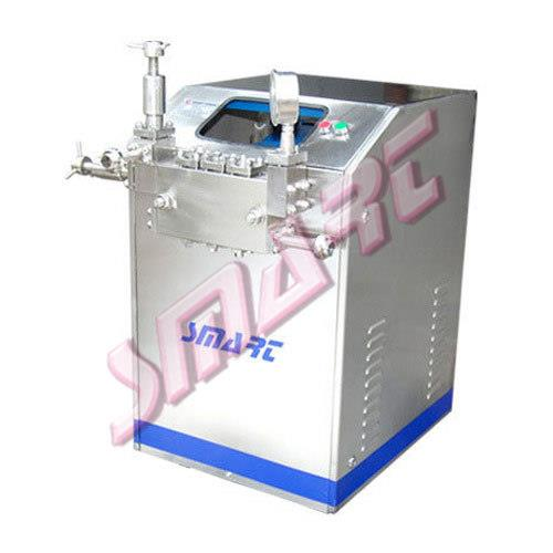High Pressure Homogenizer      We manufacture a durable range of homogenizer machine which comprises of positive displacement pump and has its own significance. The displacement pumps forces the product under high pressure through a sma - by SMART ENGINEERING, Coimbatore