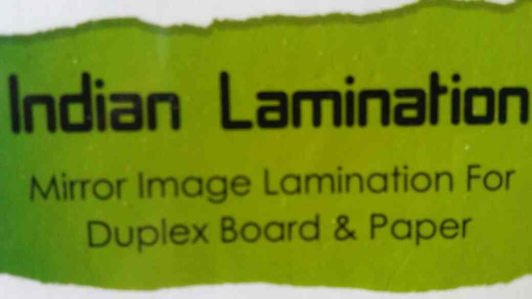 We are providing Mirror Image Lamination For Duplex Board And Paper in Vadodara, Gujarat. - by Indian lamination, Vadodara