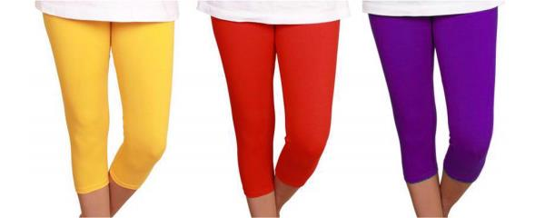 High Quality Fabric Cotton Leggings available. Give your legs Comfort and style and look. Available in various colours.  Jyoti Garments - Leggings Manufacturer in India - by Jyoti Garments - Online Leggings Store, Delhi
