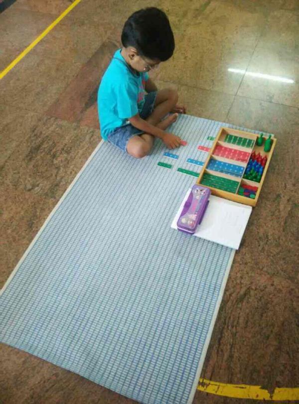 vistas montessori-children at work - by Vistas Montessori, Bangalore