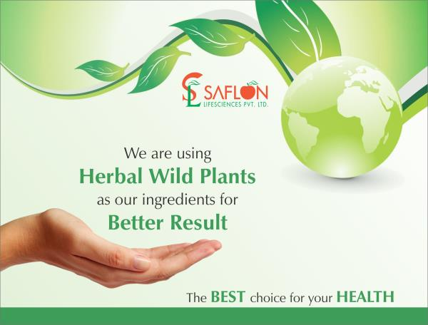PCD Herbal Company who provides Monopoly Rights Through out India, Districtwise For 21 Herbal Product. - by Saflon lifesciences, Ahmedabad