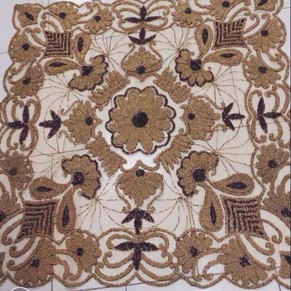 India hand made table cover - by Rezaei, Tehran