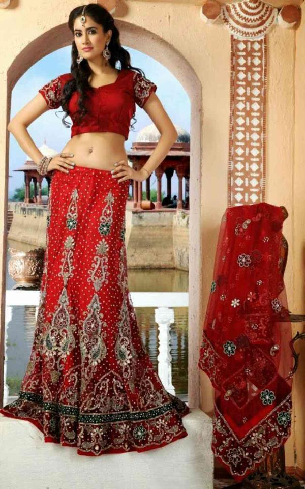 Bridal Lehenga Choli in Vadodara - by Aardhya Designer Wear, Vadodara