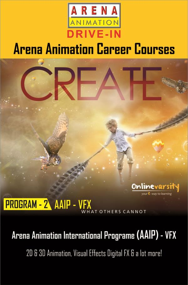 Become a Professional in the VFX Industry.  - by ARENA ANIMATION - DRIVE IN, Ahmedabad