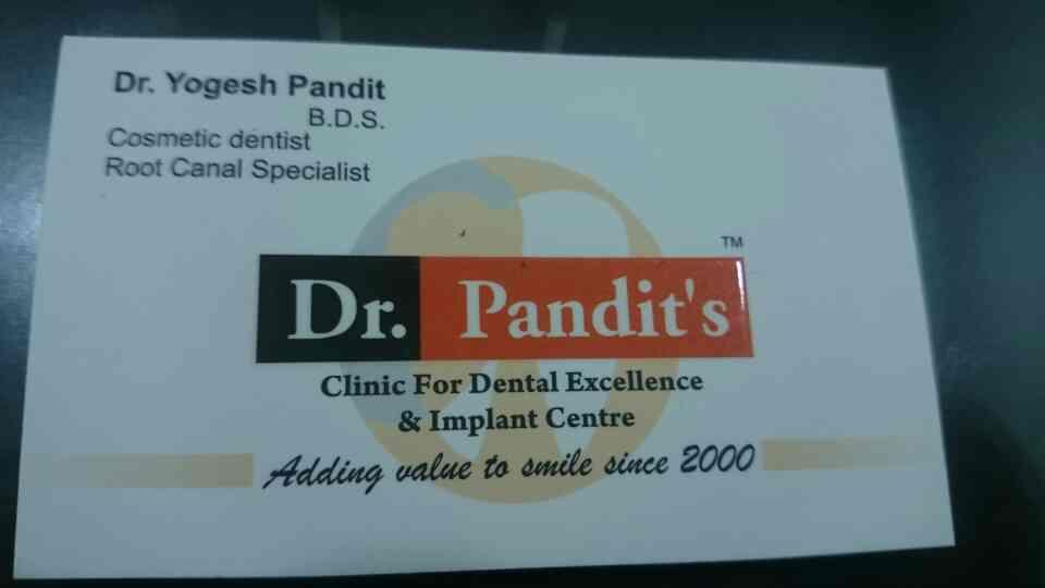 Dental clinic in Pashan.  - by Dr. Pandit Clinic, Pune