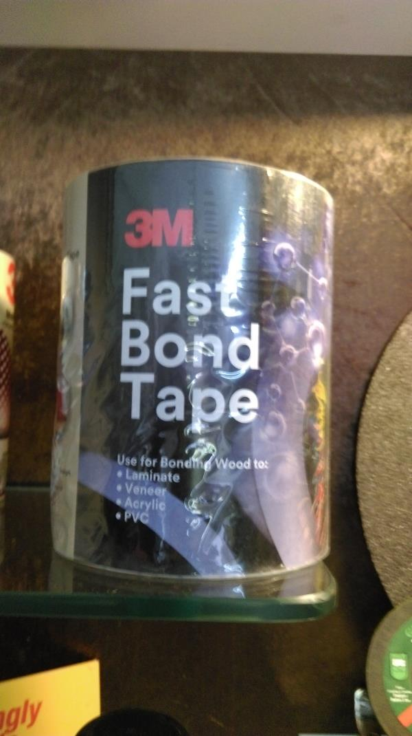 G.D TRADERS:- AUTHORISED DISTRIBUTOR   3M FAST BOND TAPE  3M™ Fastbond™ Contact Adhesive 30NF is a water-dispersed, high-strength adhesive that has high coverage, immediate bond strength, a long bonding range and good heat resistance. Our a - by GD Traders, Aurangabad