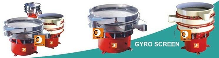 we are leading manufacturer gyro screen in ahmedabad  - by Vijimech, Ahmedabad