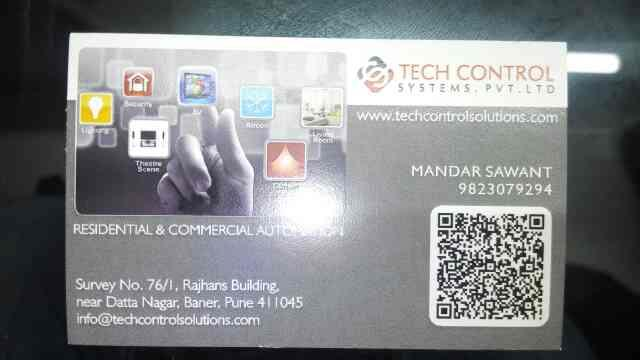 residential & commercial automation - by Tech control System, Pune