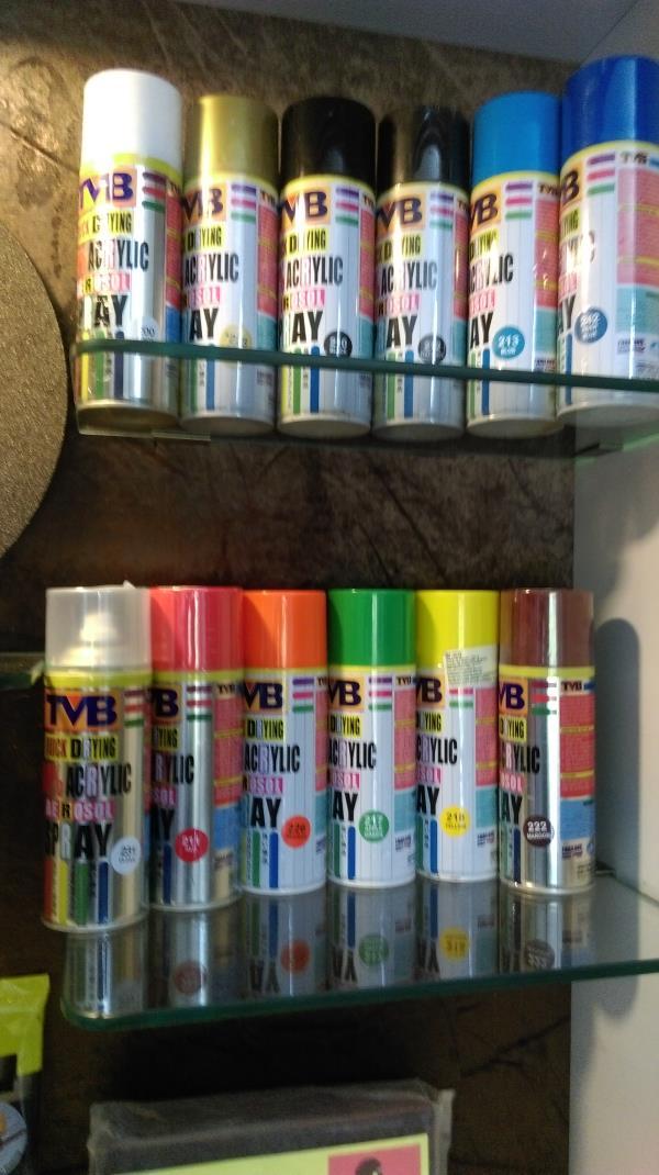 TVB Acrylic Spray - by GD Traders, Aurangabad