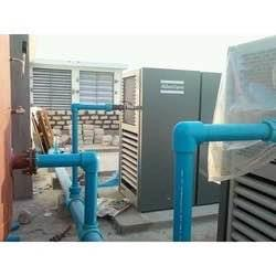 Pneumatic piping for COMPRESSIOR   Atlas Copco having 7 bar pressure with PPCH FR Pneumatic Pipes & Fittings - by PHOENIX Call 07930447105, Ankleshwar