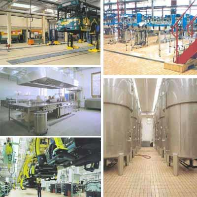 Acid Alkali Resistant tiles        The production process in many industries involves usage of acids and alkalis of different concentration levels. Some will be spillage conditions and some others require acids to be stored in tanks. Normal - by Shree Luckmiraam Associates, Chennai