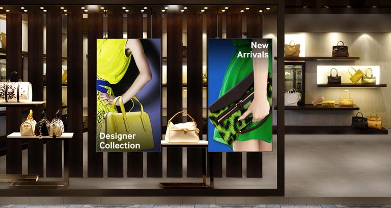With Samsung Outdoor Signage get more visitors to your retail business by effectively delivering promotional messaging with excellent visibility. OMD Series SMART Signage features 2, 500-nit high brightness and 5000:1 contrast ratio for sup - by Avitronics Projections Pvt Ltd Call 040-39594553, secunderabad