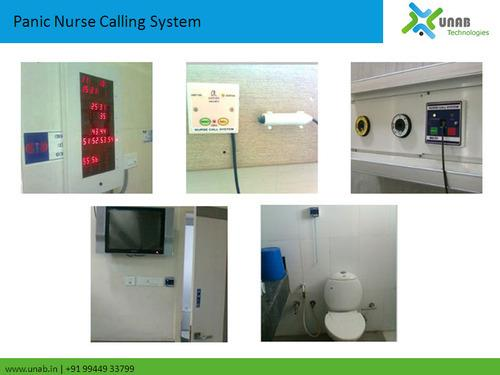 Emergency Nurse Calling System  We are among the celebrated names in the industry for manufacturing and exporting Emergency Nurse Calling System. The offered calling system is used for attending functions like answering calls, transferring  - by Unab Technologies Pvt Ltd, Coimbatore