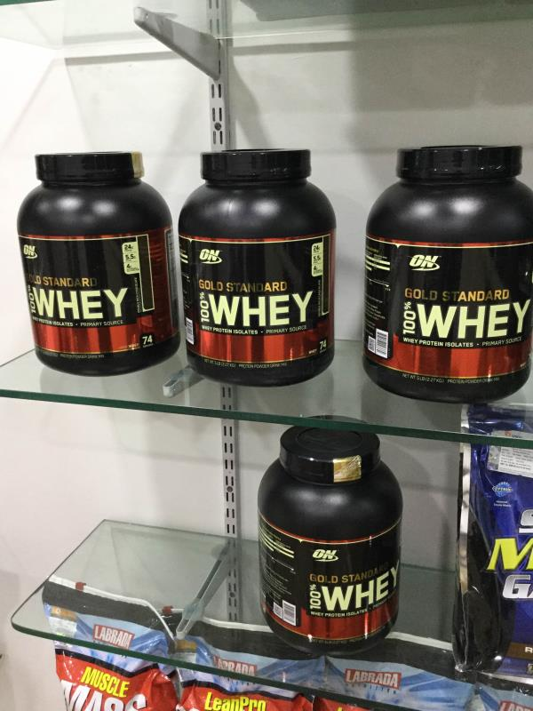 Gold standard whey protein isolated in maninagar Ahmedabad . - by GR Nutrition, Ahmedabad