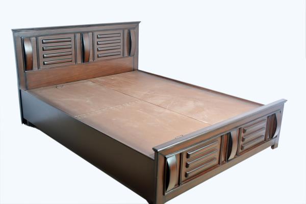 obera solid wood cot 6-6.5feet - by NATURE WOOD FURNITURE, Bengaluru